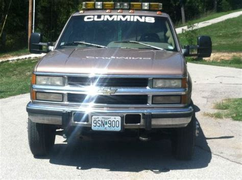 how cars work for dummies 1995 chevrolet 3500 electronic valve timing buy used 1995 chevy 3500 4x4 with cummins diesel in pacific missouri united states