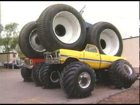 10 Ft Firestone Tire 2 Monster Truck Crush Bigfoot 4x4