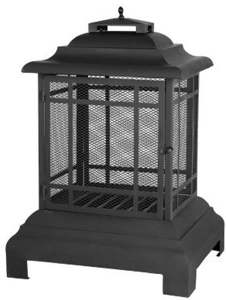 Free Standing Outdoor Fireplaces by New Pagoda Patio Fireplace Free Standing Outdoor Steel