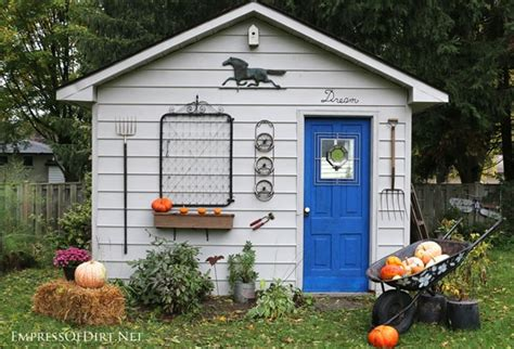 fabulous garden shed ideas empress  dirt