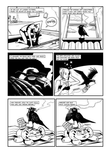 Squarespace Comic Template Tank Girl Comic