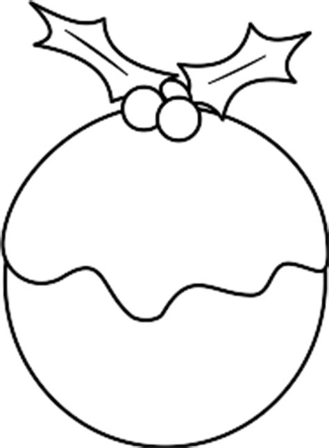 colouring pages christmas pudding pudding 20clipart clipart panda free clipart images