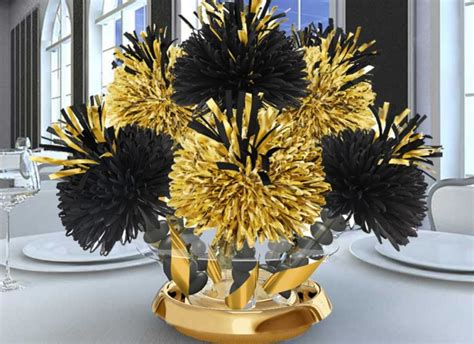 black and gold centerpieces for tables black and gold wedding centerpieces