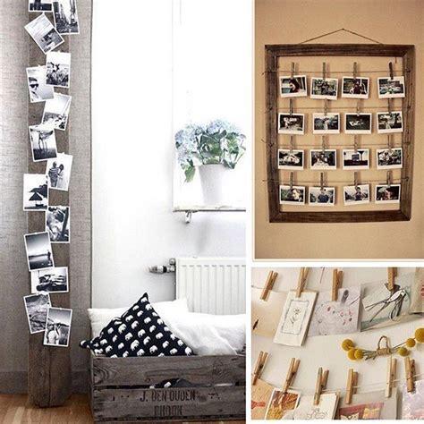 decorar tu pared con fotos m 225 s de 25 ideas incre 237 bles sobre ideas para colgar fotos