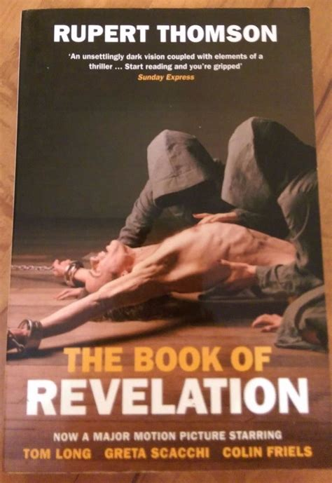 revelation books the book of revelation by rupert thomson paperback 2006