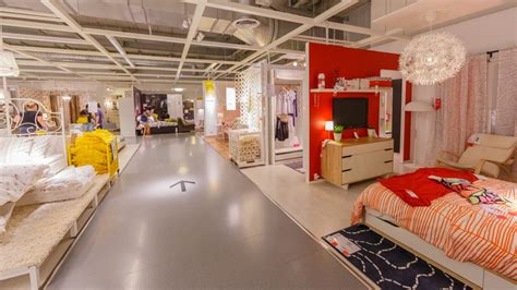 customer inside warehouse part of ikea home store stock swedish ambassador confirms first ikea store in
