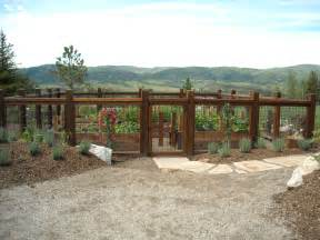 vegetable garden fence ideas landscape eclectic with
