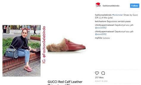 Harga Sandal Gucci Bulu sebenarnya yang dikenakan 5 artis ini hanya sandal tapi