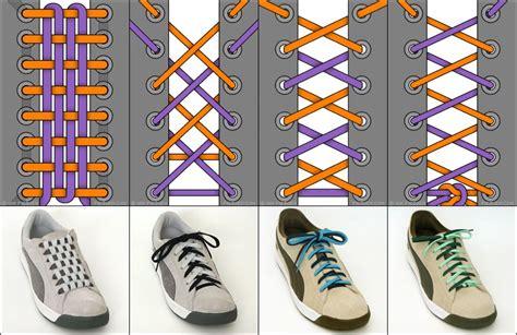 Schuhe Binden Arten by 2 Billionen M 246 Glichkeiten Die Schuhe Zu Binden Harlem