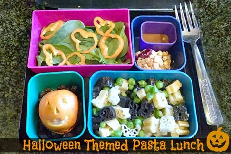halloween themed lunch kid friendly lunch halloween themed lunch with spooky