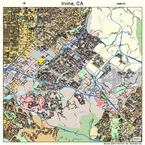 california map irvine ca irvine california map 0636770