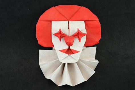 Origami Clown - tutunkhamen
