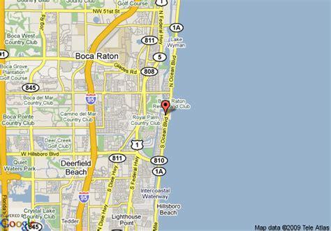 boca raton map map of boca raton bridge hotel boca raton