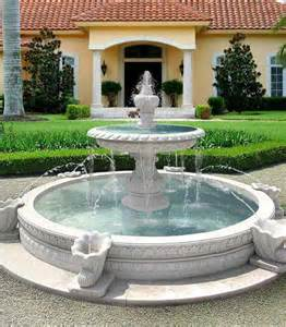 Backyard Fountains Ideas by Water Fountains Front Yard And Backyard Designs