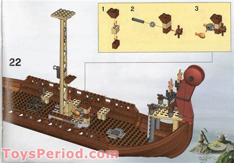 lego viking boat instructions lego 7018 viking ship challenges the midgard serpent set