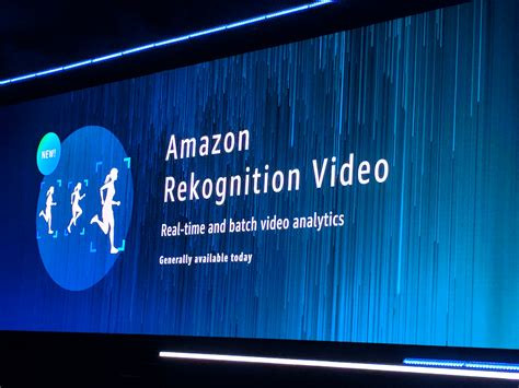 amazon rekognition amazon rekognition video gives developers access to real