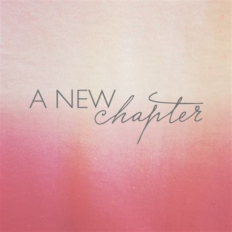 A New Chapter a new chapter cloth