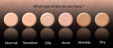 skin types beauty health and skin care know your skin type