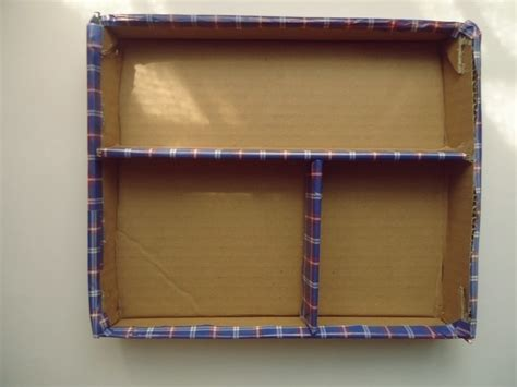 How To Make A Drawer Organizer Out Of Cardboard by D I Y Cardboard Jewelry Organizer 183 How To Make A Drawer