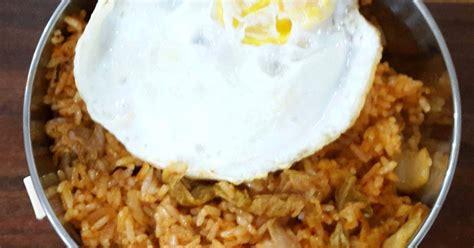 resep kimchi fried rice oleh yunny christiany cookpad