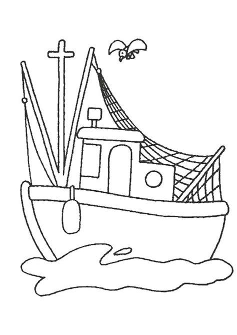 dessin bateau de peche les 55 meilleures images du tableau coloriages de bateaux
