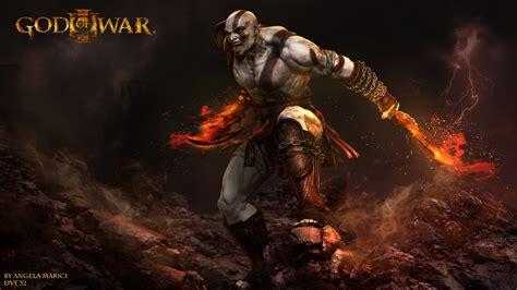 imagenes full hd de kratos god of war kratos by angela marici zbrushtuts