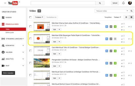 cara upload video di youtube dapat uang cara memonetize video di youtube supaya dapat penghasilan