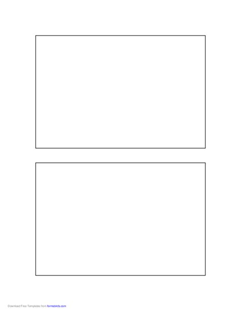 4 x6 card free template postcard template 4x6 inches free