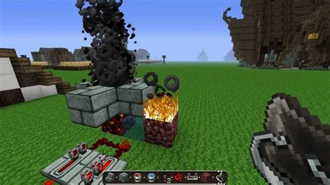 How Do I Make A Fireplace In Minecraft by Minecraft How To Make Billowing Chimney Smoke 1 2 5