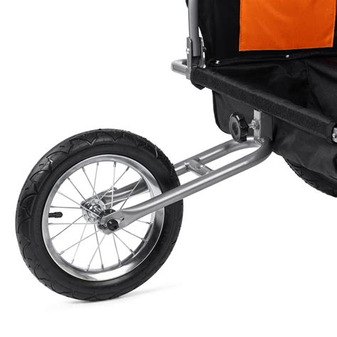 Jogger For Orange samax children bike trailer 2in1 jogger stroller with
