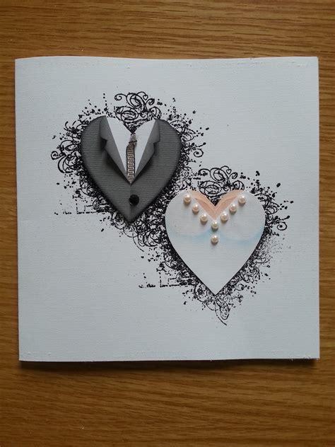 Handmade Engagement Card Ideas - handmade wedding card from lotta 180 s paper piecing