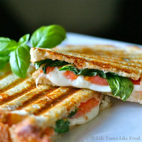 easy healthy recipe italian panini recipe corner