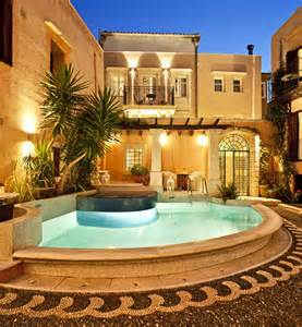 luxury struck tranquil vacation in greek medieval town freshome com