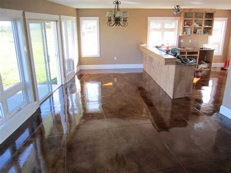 Polished Concrete Floors In Homes     Services