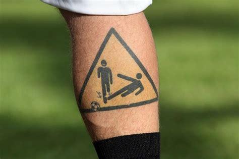football ink 20 of the worst footballer s tattoos
