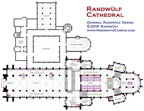 hogwarts castle floor plan randwulf cathedral floor plan http randwulf com hogwarts