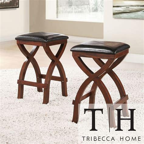 tribecca home jaidyn espresso x base 24 inch counter