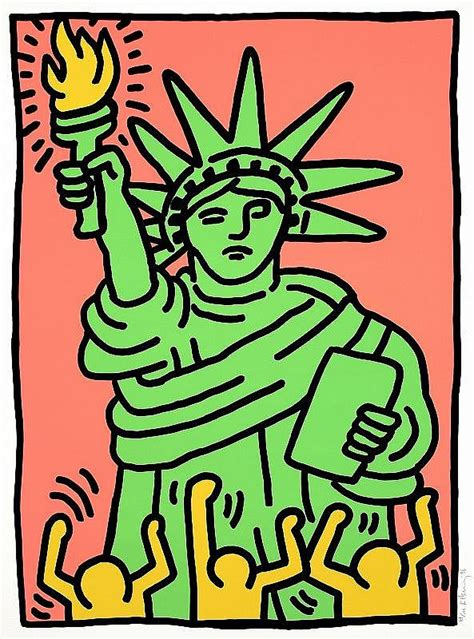 statue of liberty l keith haring statue of liberty l p 63
