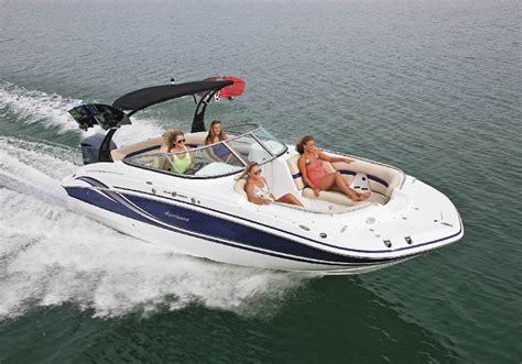 hurricane boat steering wheel just around the corner pontoon deck boat magazine
