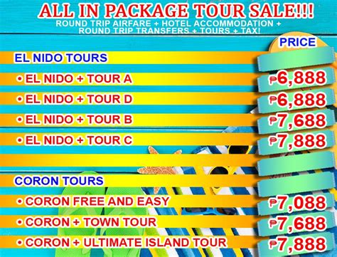 all in package tour promo with airfare shadow travel and tours