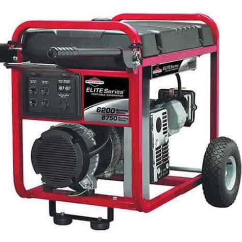 30242 portable generator briggs stratton 174 elite series