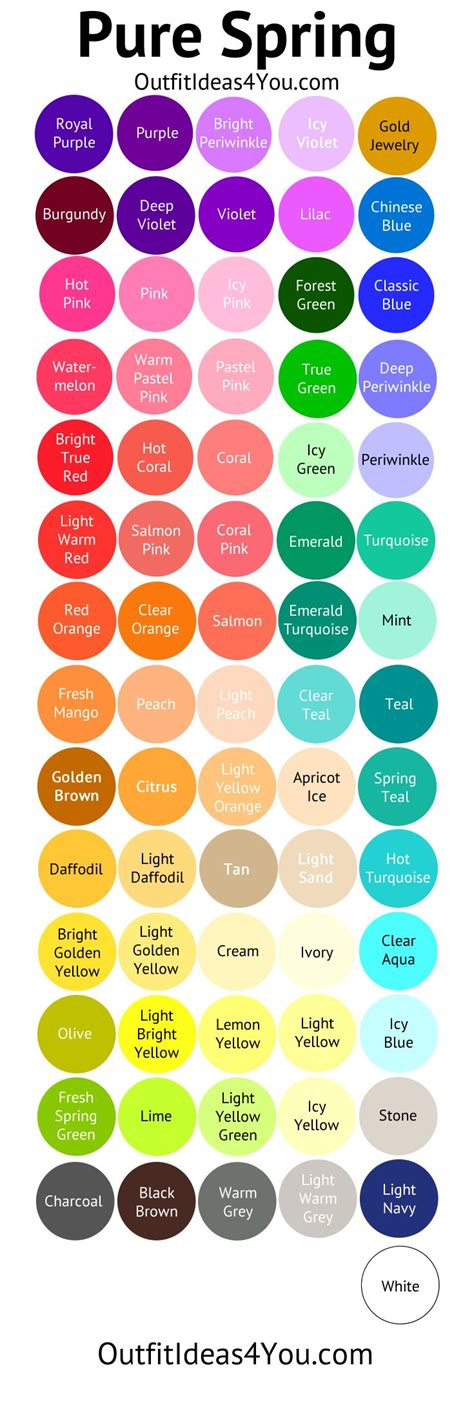 spring color schemes 25 best ideas about spring colors on pinterest spring