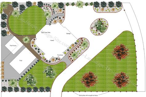 yard plans gallery 17 free designs landscaping ideas pictures free landscaping plans drawing art gallery