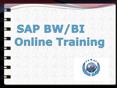 Sap Bi Bw Online Training Authorstream Sap Powerpoint Template