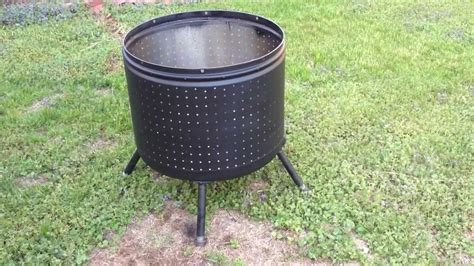 diy pit washing machine metal what can i use as a bowl for a diy bowl pit home improvement stack exchange