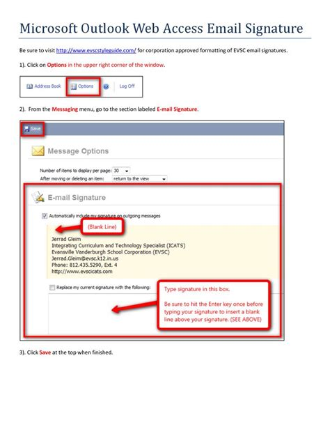 outlook signature template 17 best ideas about outlook signature on email