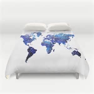 monde carte couette couverture globe couette carte de la