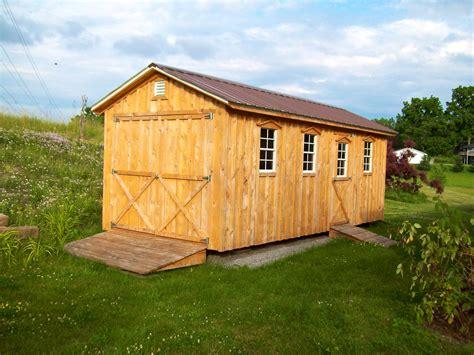 built with amish sheds