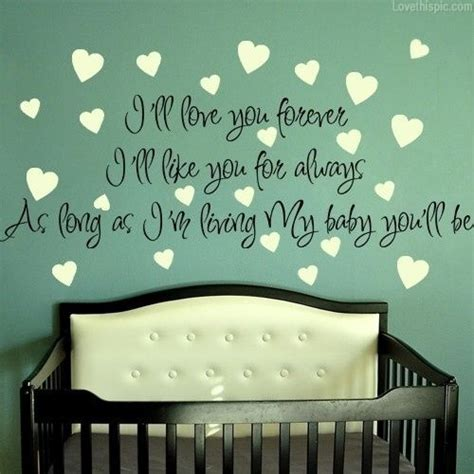 a baby for forever books i ll your forever quotes family pregnancy