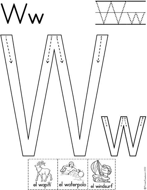 imagenes de animales por la letra w letras cursivas